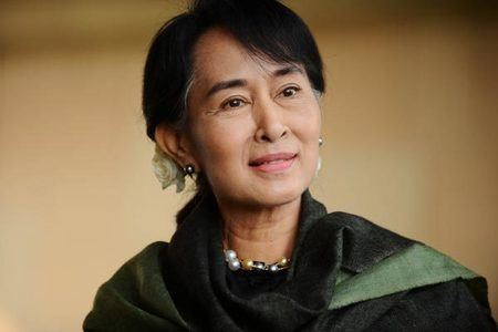 Myanmar's detained Suu Kyi asks court to meet her lawyers