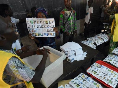 Ballot counting under way after tense election in Benin