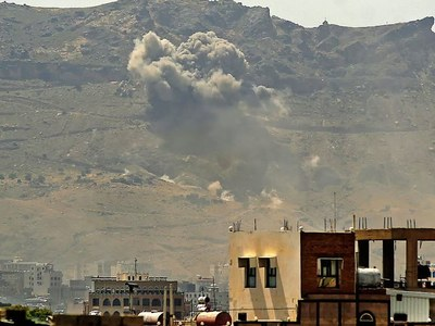 Yemen's Huthi rebels claim strikes on Saudi oil plants