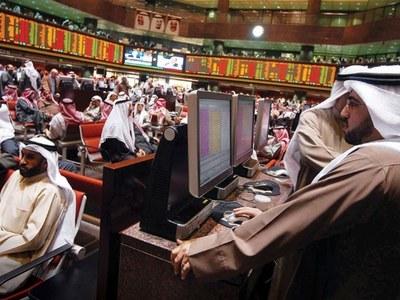 Most major Gulf markets fall; Abu Dhabi gains