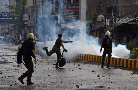 Two killed in protests over TLP Chief Saad Hussain Rizvi's arrest