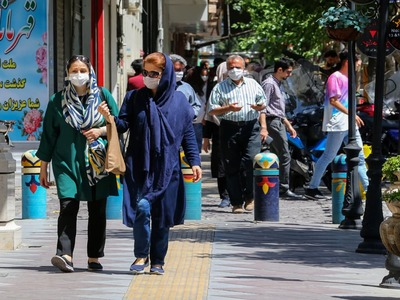 Iran sees record spike in COVID cases after holiday travels