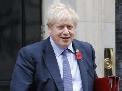 UK's Johnson warns lockdown, not vaccines, behind drop in COVID deaths