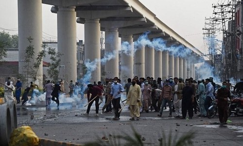 Police officer, protester killed