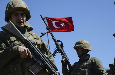 Turkish soldier killed by rocket fire in Iraq