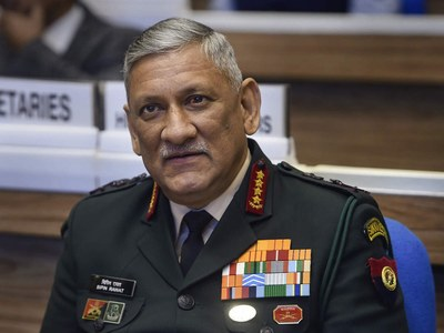 India's military chief concerned about U.S. pullout from Afghanistan