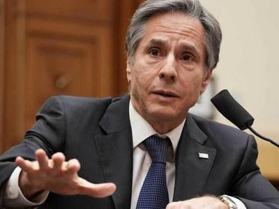 Top US envoy Blinken in Afghanistan for troop withdrawal talks