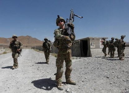 US troops withdrawal must coincide with progress in the peace process: Foreign Office