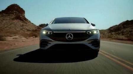 Mercedes-Benz unveils its 2022 EQS Luxury Electric Sedan