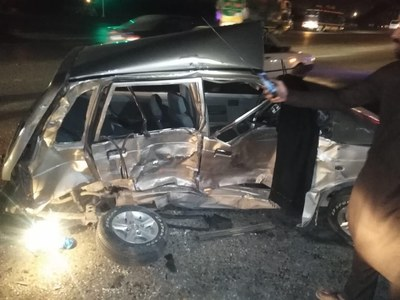 Four of a family killed in road mishap