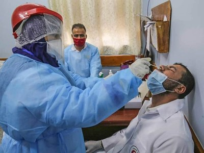 Gaza record record daily virus deaths
