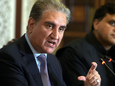 Qureshi says no plan to meet Indian counterpart in UAE