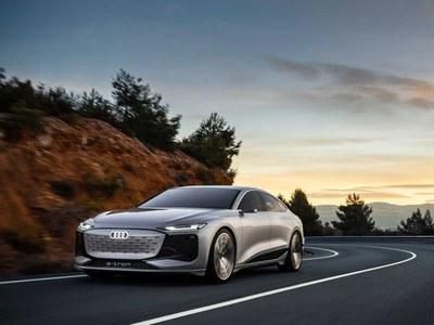 Audi unveils brand new luxury sedan A6 E-Tron
