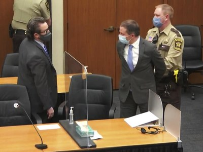 US Jury holds former policeman Chauvin guilty of murdering George Floyd