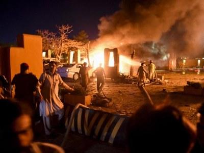 9 injured in Quetta's Serena Hotel blast