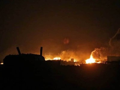 Israel strikes Syria after 'missile' targets southern Israel: army