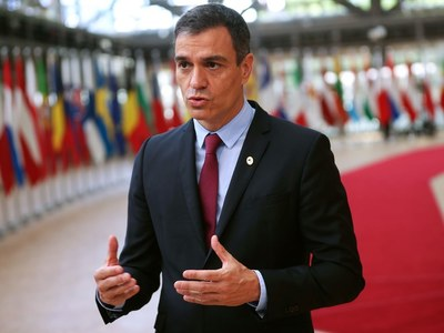 Spanish PM condemns death threat against minister