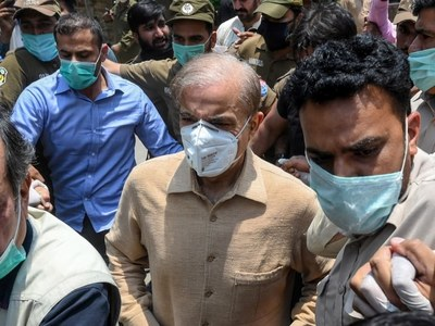 Shehbaz released from Kot Lakhpat prison