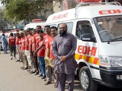 Covid-19 patients: Faisal Edhi offers 50 ambulances to India