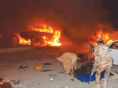 Foreign national involved in Quetta blast: police