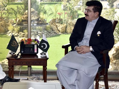 Sanjrani assures support to FPCCI