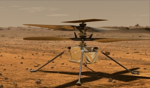 NASA's Mars helicopter's third flight goes farther, faster than before