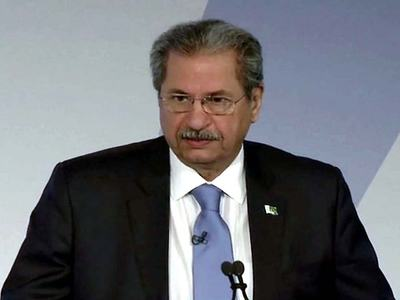 No decision to pass students without exams: Shafqat