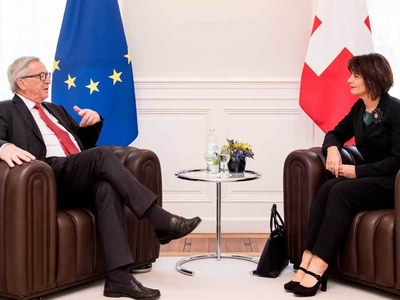 Freedom of movement a 'sticking point' in EU-Swiss talks