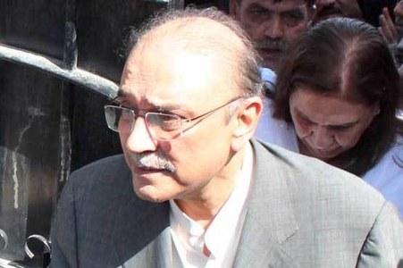 NAB files reference against Zardari in Rs8.3 billion transaction case