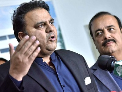 Fawad slams Fazl over statement against 'national security'