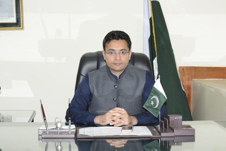 Farrukh Habib sworn in as state minister for information