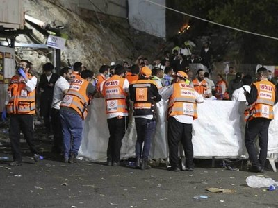Israel pilgrimage stampede kills at least 44