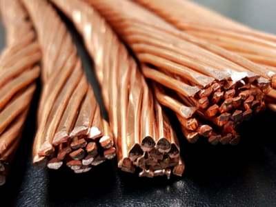 Copper prices down