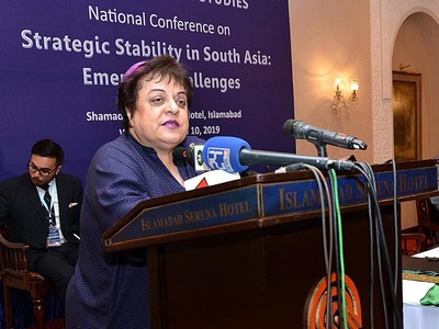 Labourers' role in national development cannot be avoided: Shireen Mazari