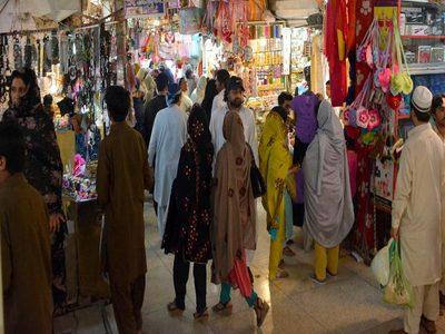 High prices dampen Eid shopping in Peshawar