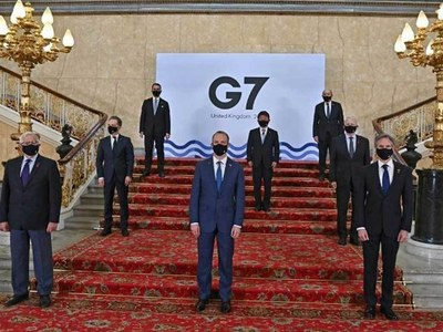 G7 seeks common front on China in first talks since pandemic