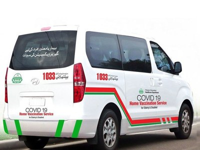 KP introduces mobile vans to vaccinate elderly at their doorsteps