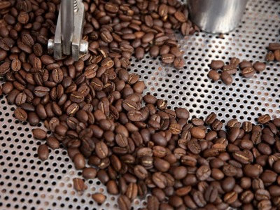 Arabica coffee slips off 4-year high, raw sugar also falls