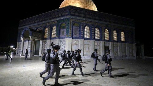 Pakistan condemns Israeli forces attack on Al-Aqsa mosque, urge world to protect Palestinians
