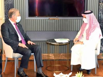 Shah Mahmood Qureshi invites Saudi Foreign Minister to visit Pakistan