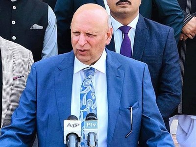 Pakistan is moving in right direction under PM's leadership: Governor
