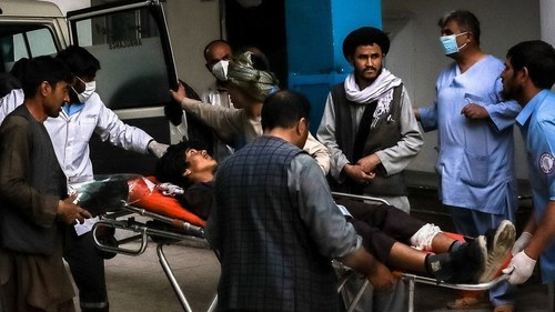 Blast near school in Kabul leaves 25 dead and dozens injured