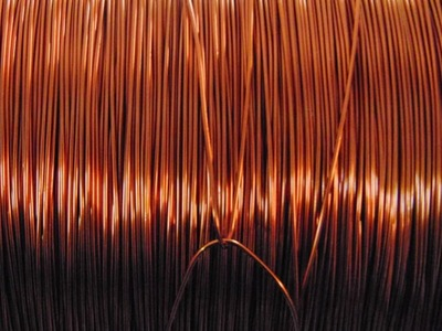 Copper slips after rallying to peak