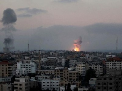 Israel says struck 130 Gaza military targets, 15 'operatives' killed