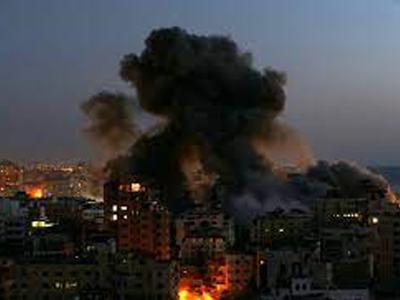 Dozens dead as Israel, Hamas escalate aerial bombardments