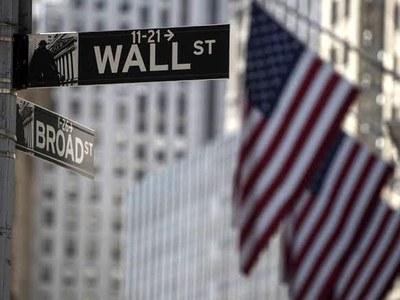 Wall Street down