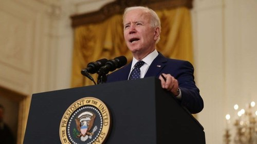 Biden says 'Israel has right to defend itself' as US throws its support behind Jewish state