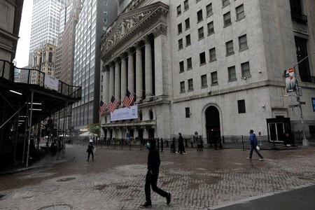 Wall Street closes sharply higher, but posts weekly loss