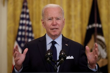 Biden urges calm in first call with Palestinian President Mahmoud Abbas