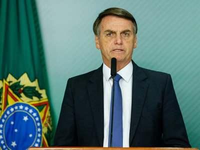On horseback and in helicopter, Bolsonaro rallies base